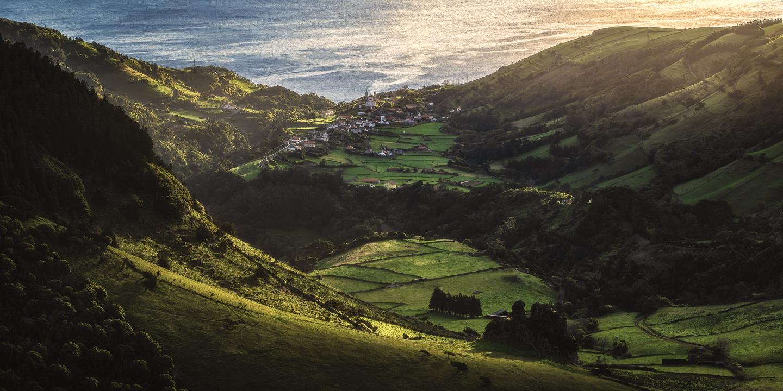 Azores - Val de Fazenda de Santa Cruz das Flores by Jean Claude Castor