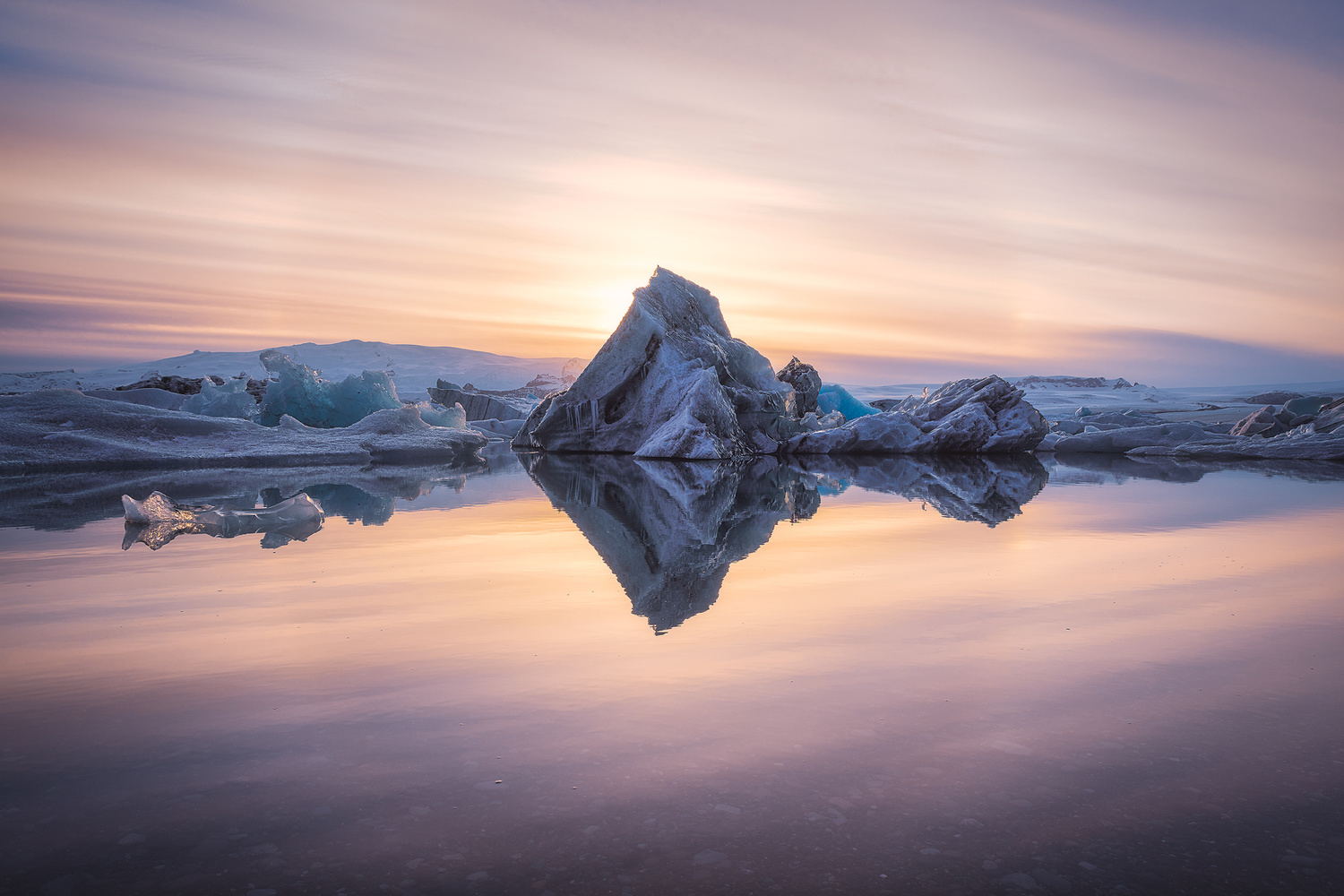 Iceland - Fire beyond the Ice by Jean Claude Castor
