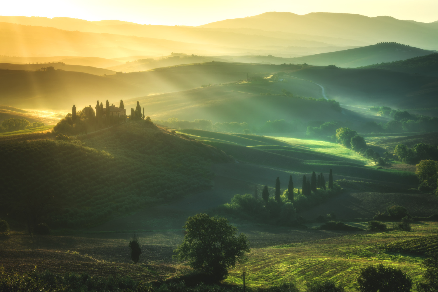Tuscan Dreams by Jean Claude Castor