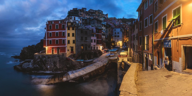 Cinque Terre - Rough Riomaggiore  by Jean Claude Castor