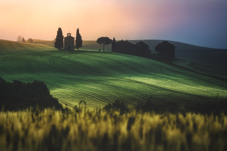 Tuscany - Santa Maria di Vitaleta by Jean Claude Castor