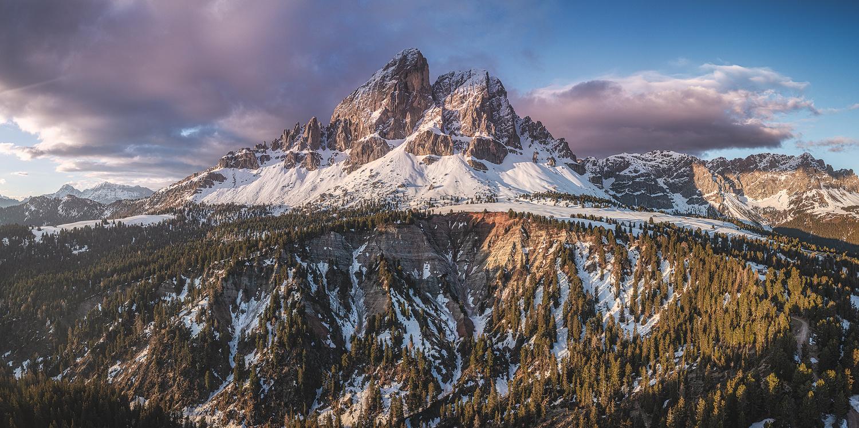Dolomites - Würzjoch + Peitlerkofel by Jean Claude Castor