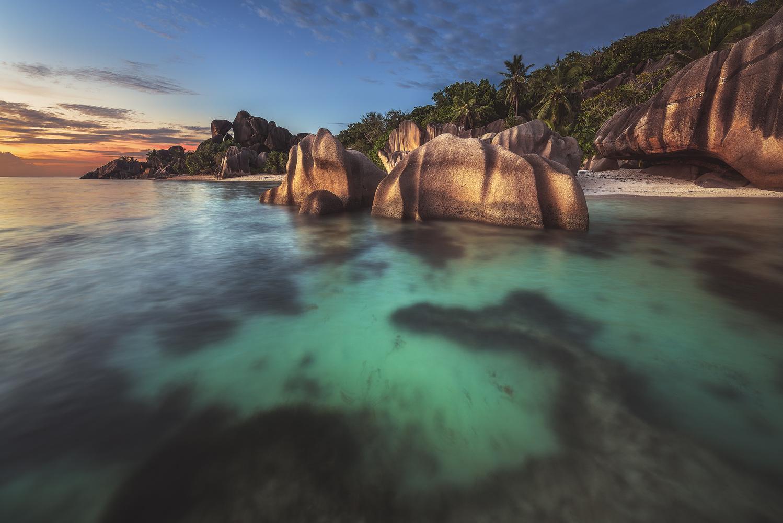 Seychelles - Anse Source d'Argent by Jean Claude Castor