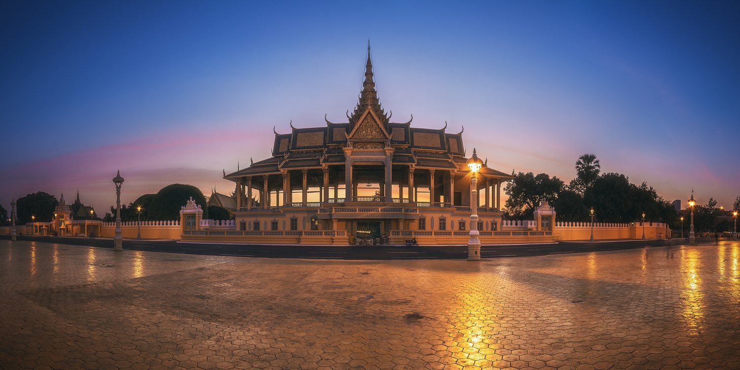 Cambodia - Royal Palace by Jean Claude Castor