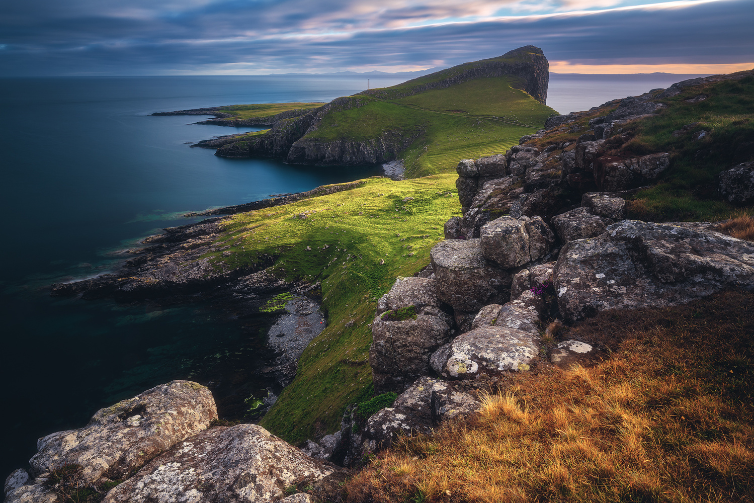 Scotland - Neist Point by Jean Claude Castor