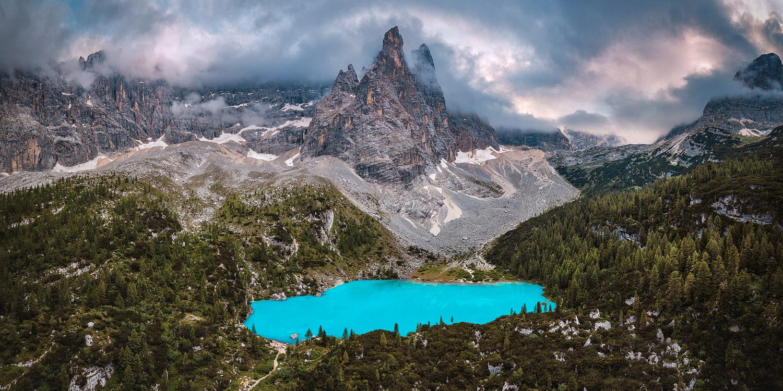 Sorapis - Venetien, Italien, 2020 by Jean Claude Castor