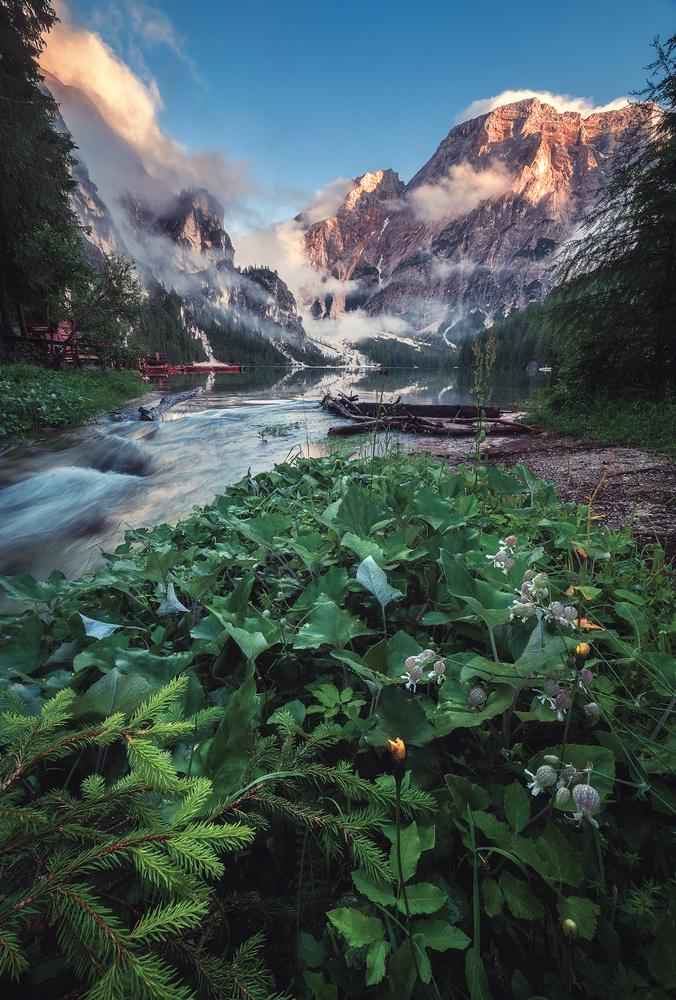 Alto Adige - Lago di Braies by Jean Claude Castor
