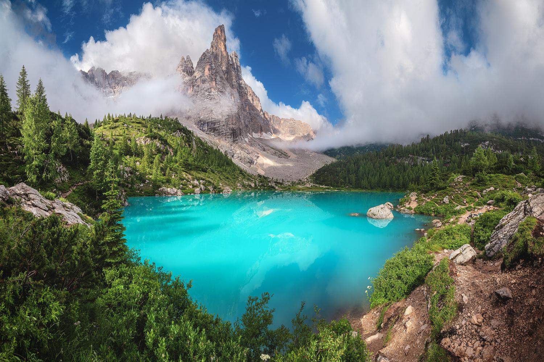 Veneto - Lago di Sorapis by Jean Claude Castor