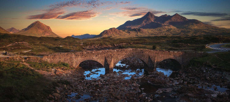 Scotland - Sligachan Panorama by Jean Claude Castor