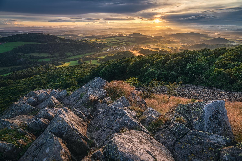 Milseburg Sunset by Jean Claude Castor