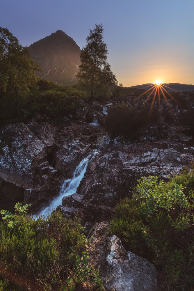 Scotland - Glencoe Etive Mor by Jean Claude Castor