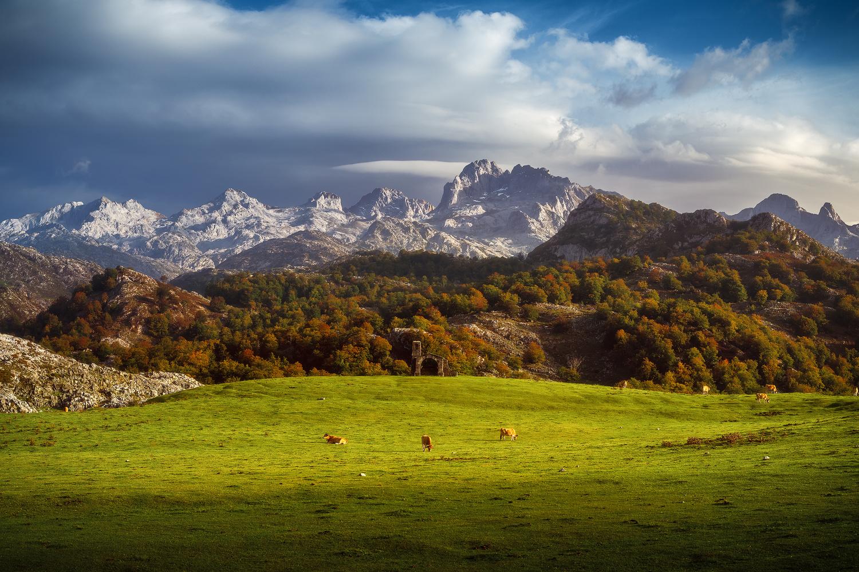 Asturias - Covadonga by Jean Claude Castor