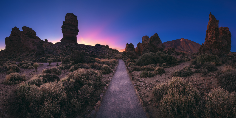 Tenerife - Canadas del Teide Panorama by Jean Claude Castor
