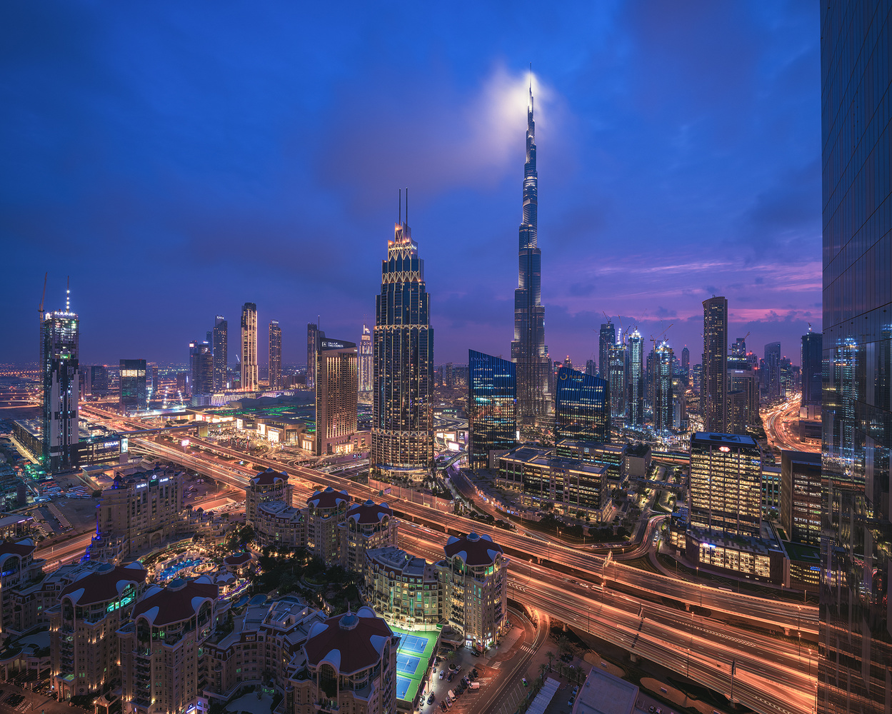 Dubai - Light the Beacons by Jean Claude Castor