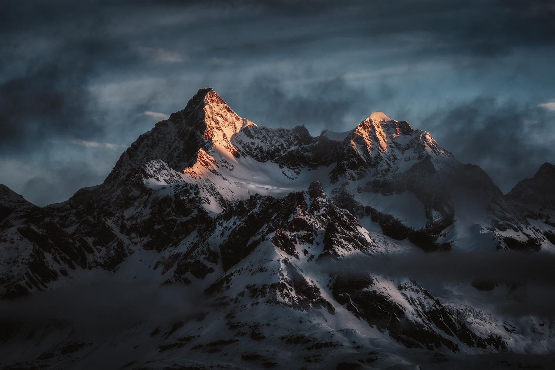 Obergabelhorn by Sebastian Tontsch