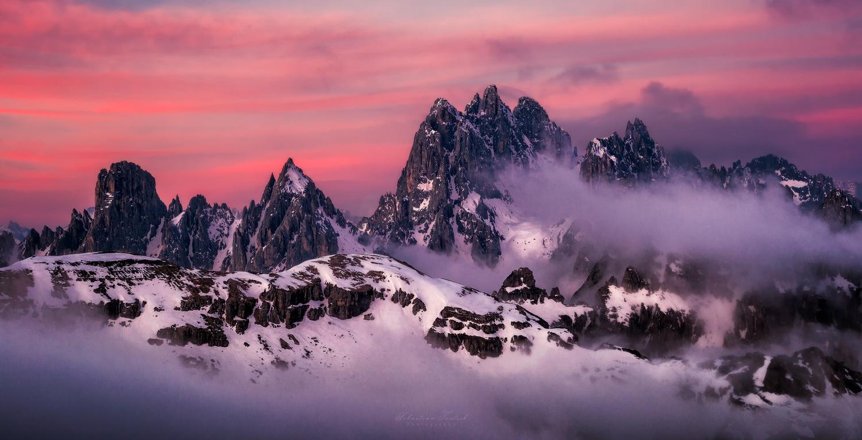 Dolomites Sunrise by Sebastian Tontsch