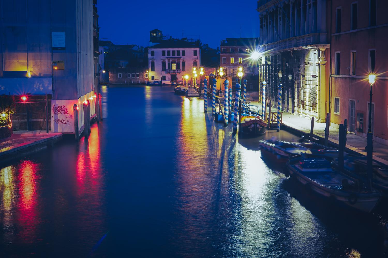 Venice, Italy Long Expo Side Alley by Tony Balsimo