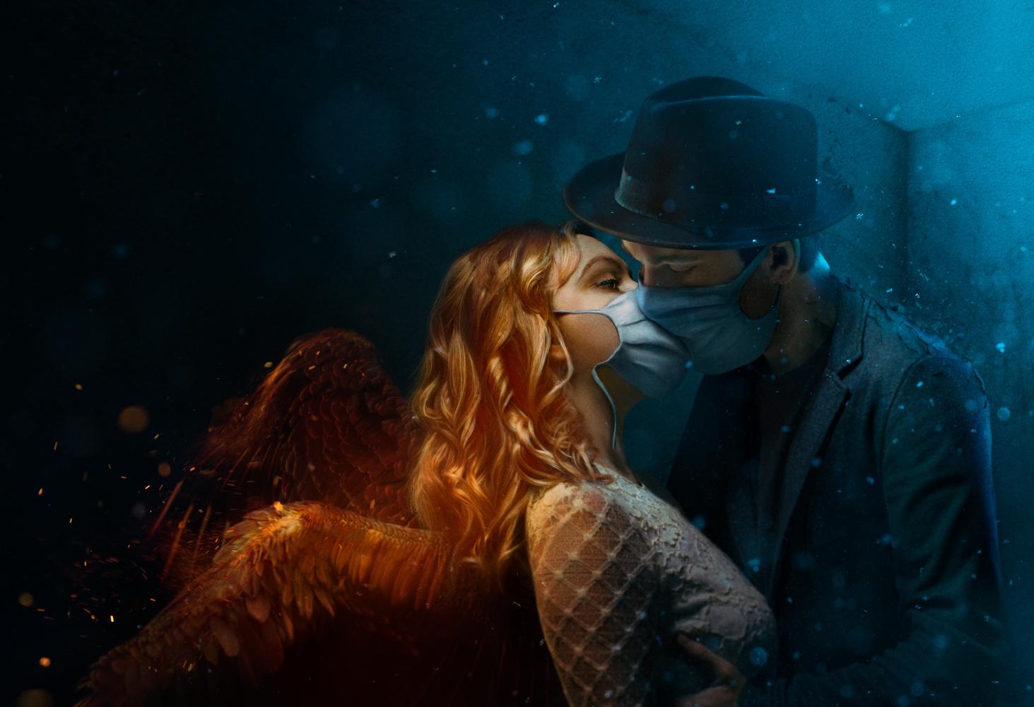 The Kiss by Kristina Stankeviciute-Polezajeva