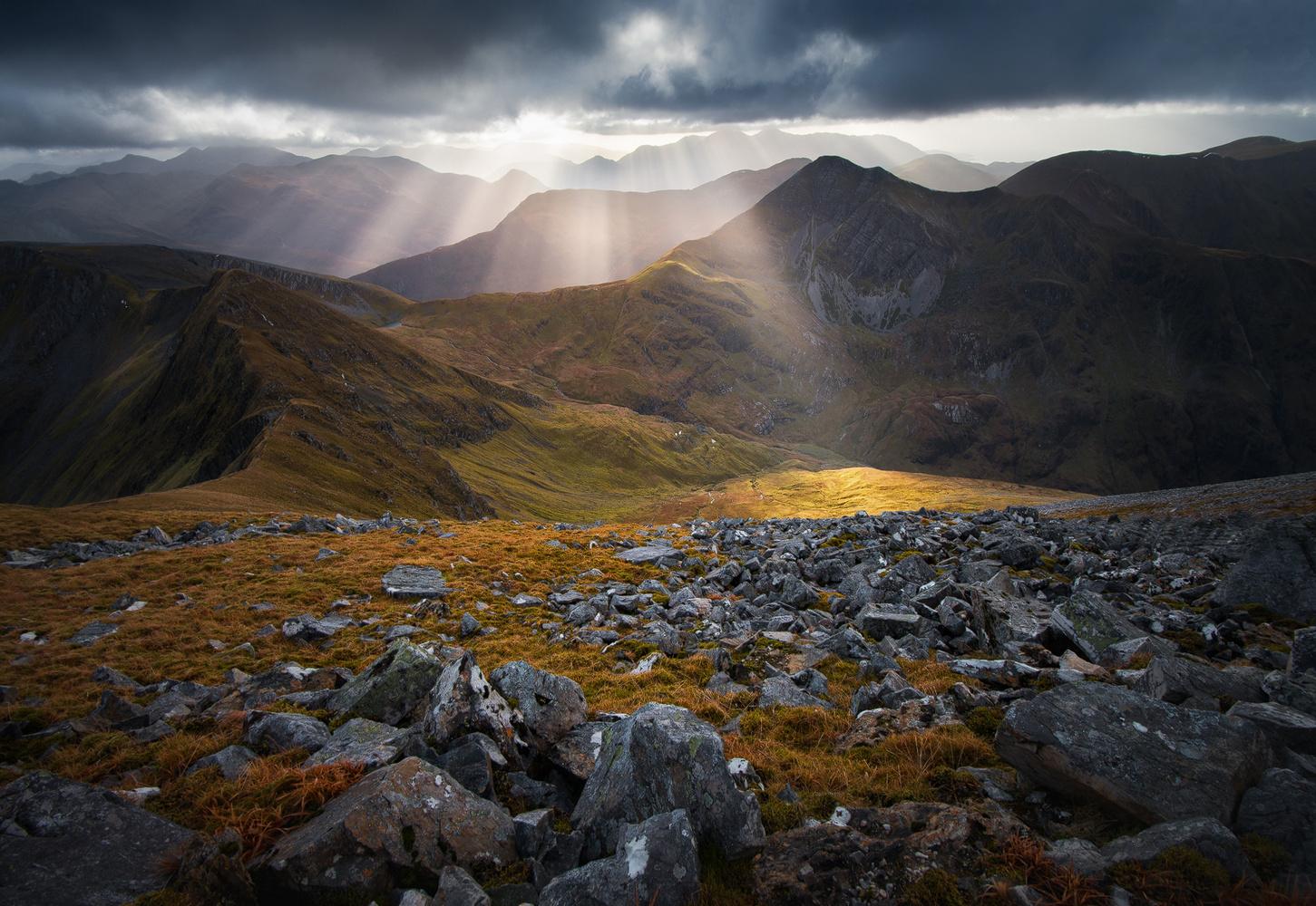 The Mountains of Heaven by Grzegorz Piechowicz