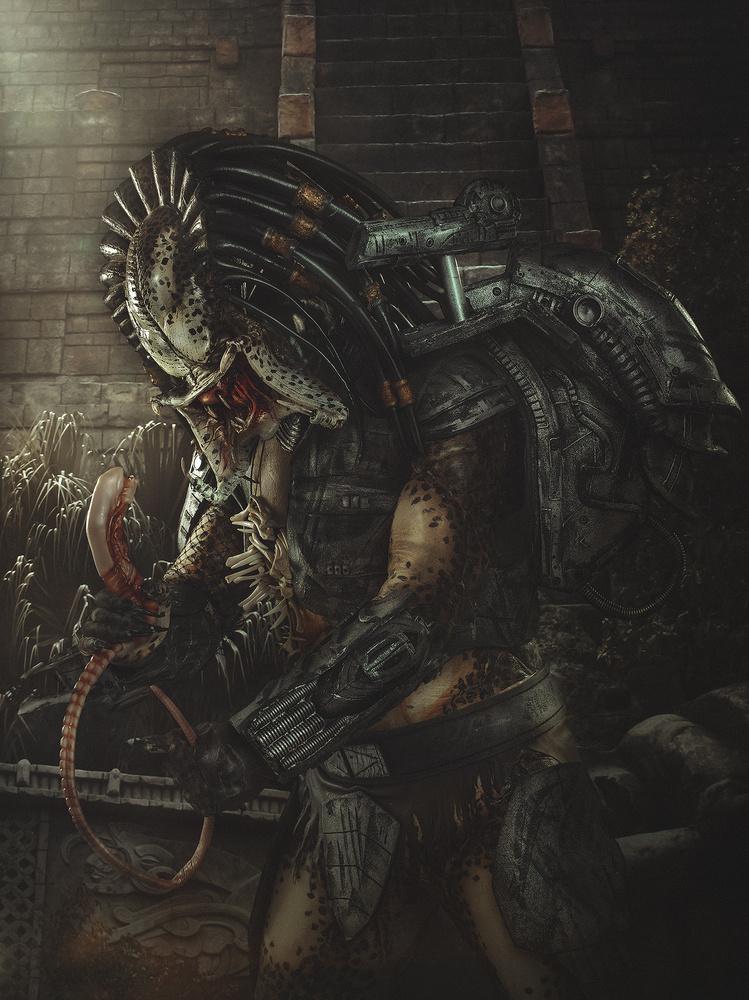 Alien VS Predator by Rebeca Saray
