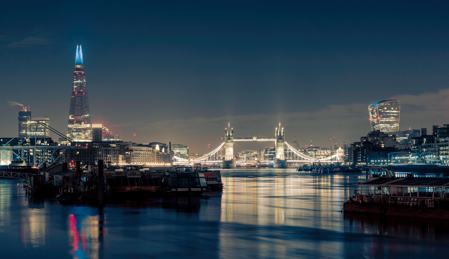The View From Rotherhithe by Dom Garforth