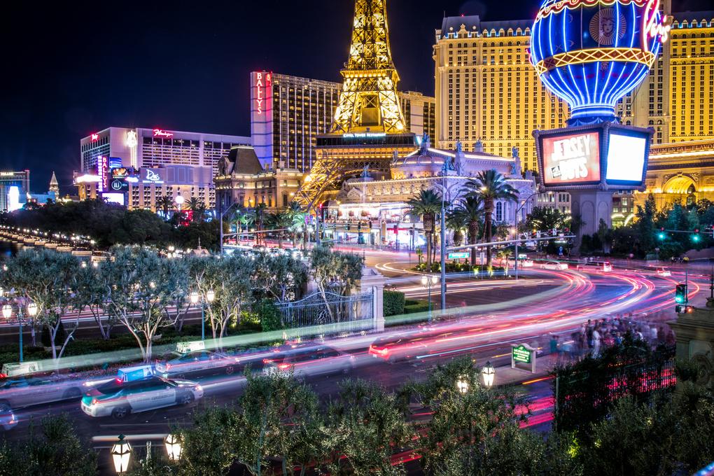 The Las Vegas Strip by Stitch Jones