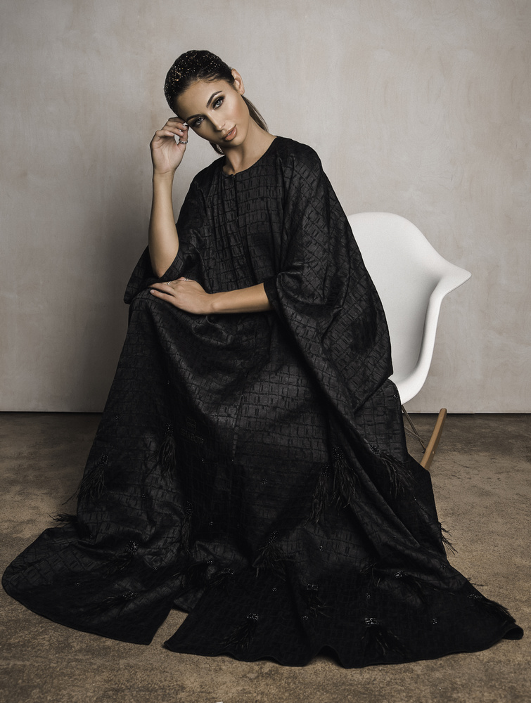 Shelby in Abaya by Diana Tupilus