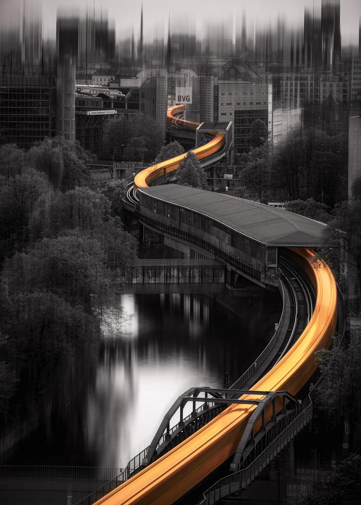 Urban Snake by Bruce Girault