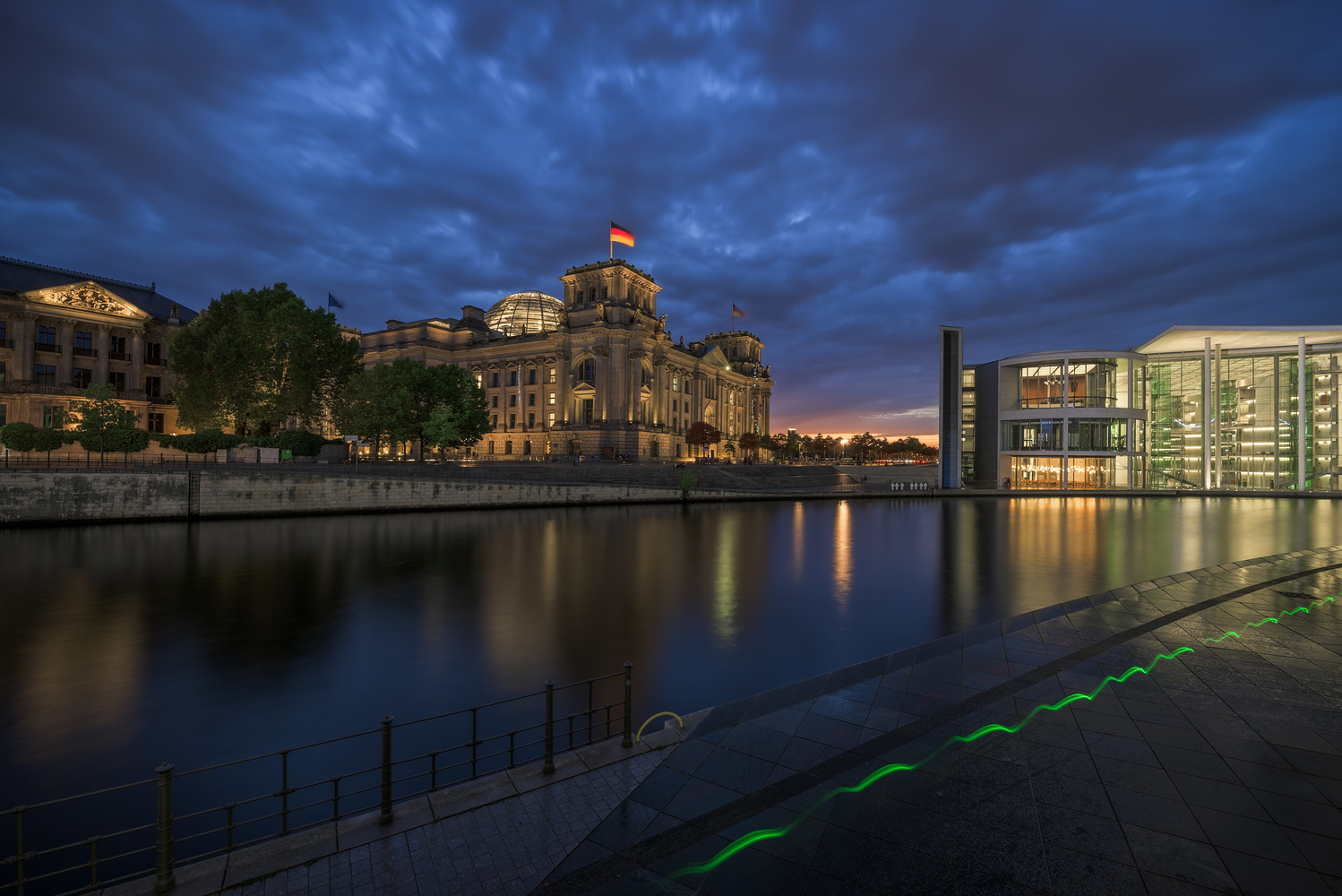 Berlin - government district by Bruce Girault