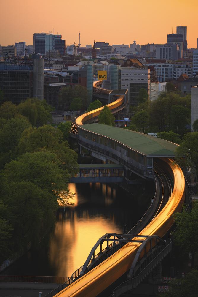 Snaking Train by Bruce Girault