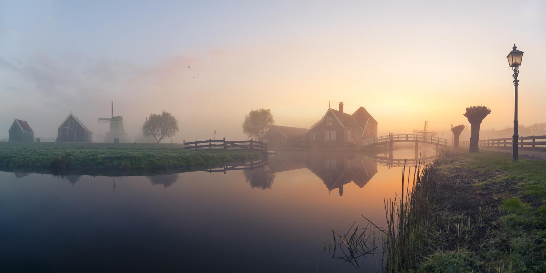 Foggy Sunrise by Bruce Girault