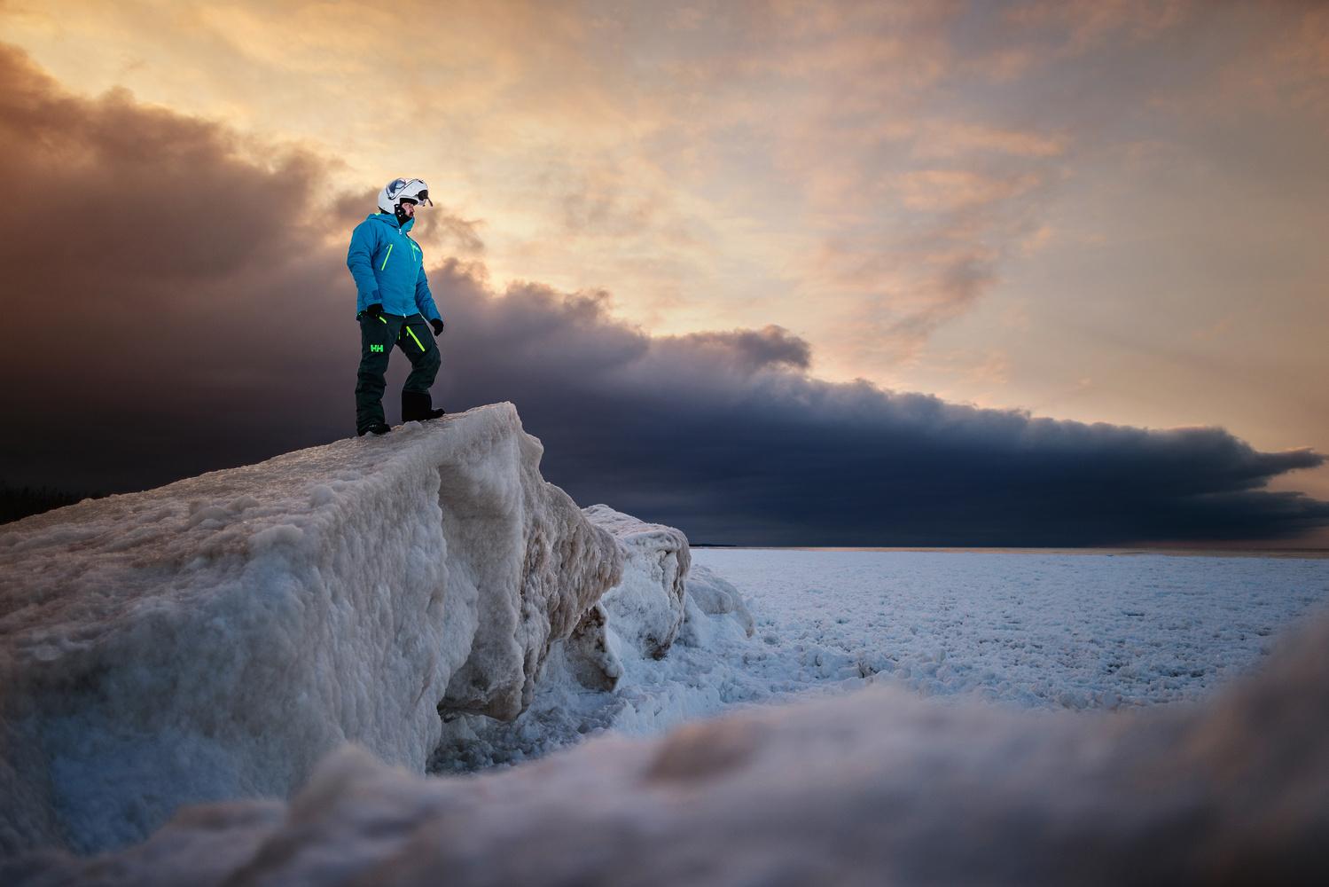Lake Superior, Michigan by Marek Dziekonski