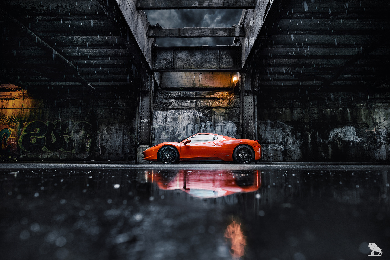 Ferrari 458 Spider by Marek Dziekonski
