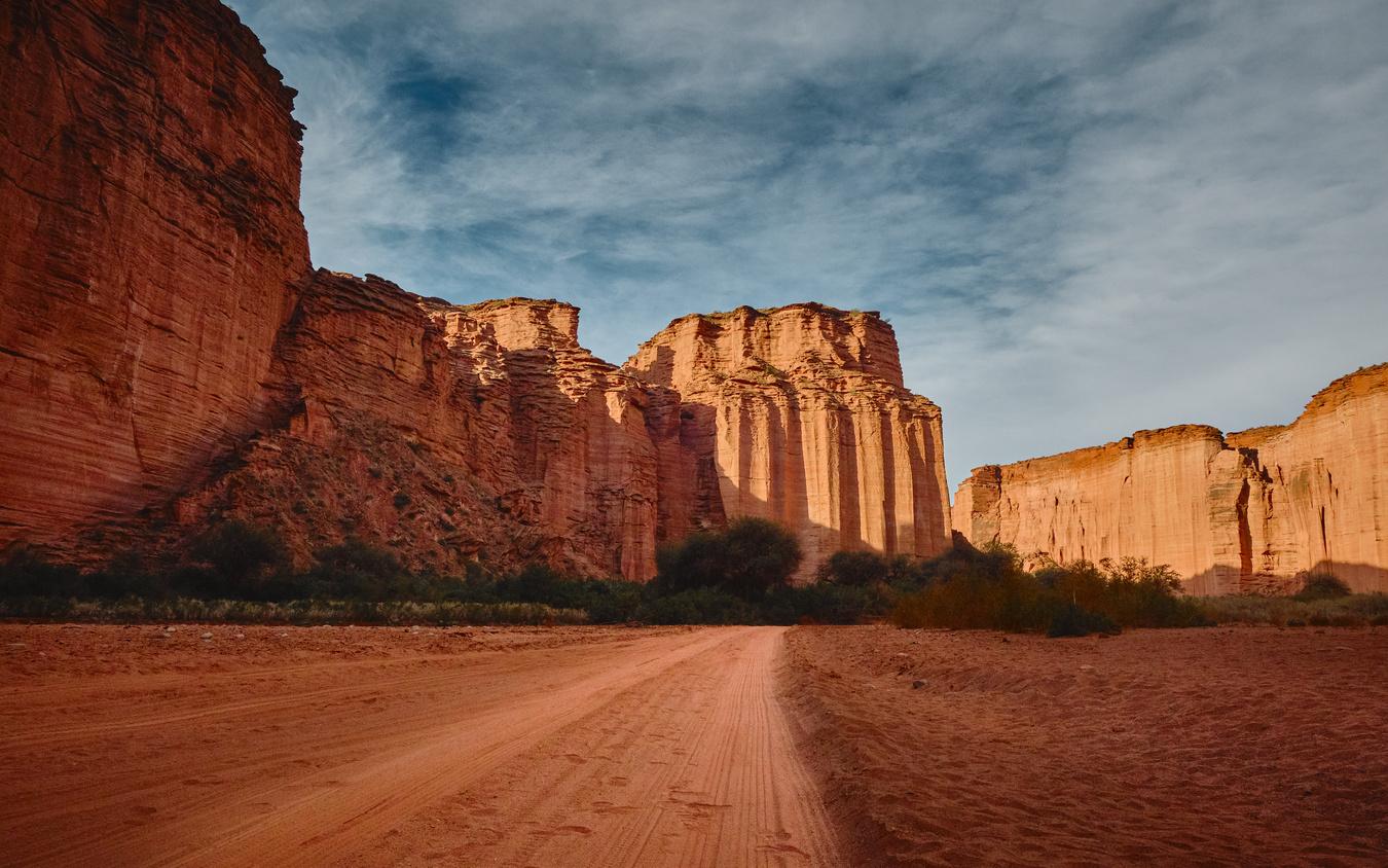 Talampaya canyon by Elio Rivero