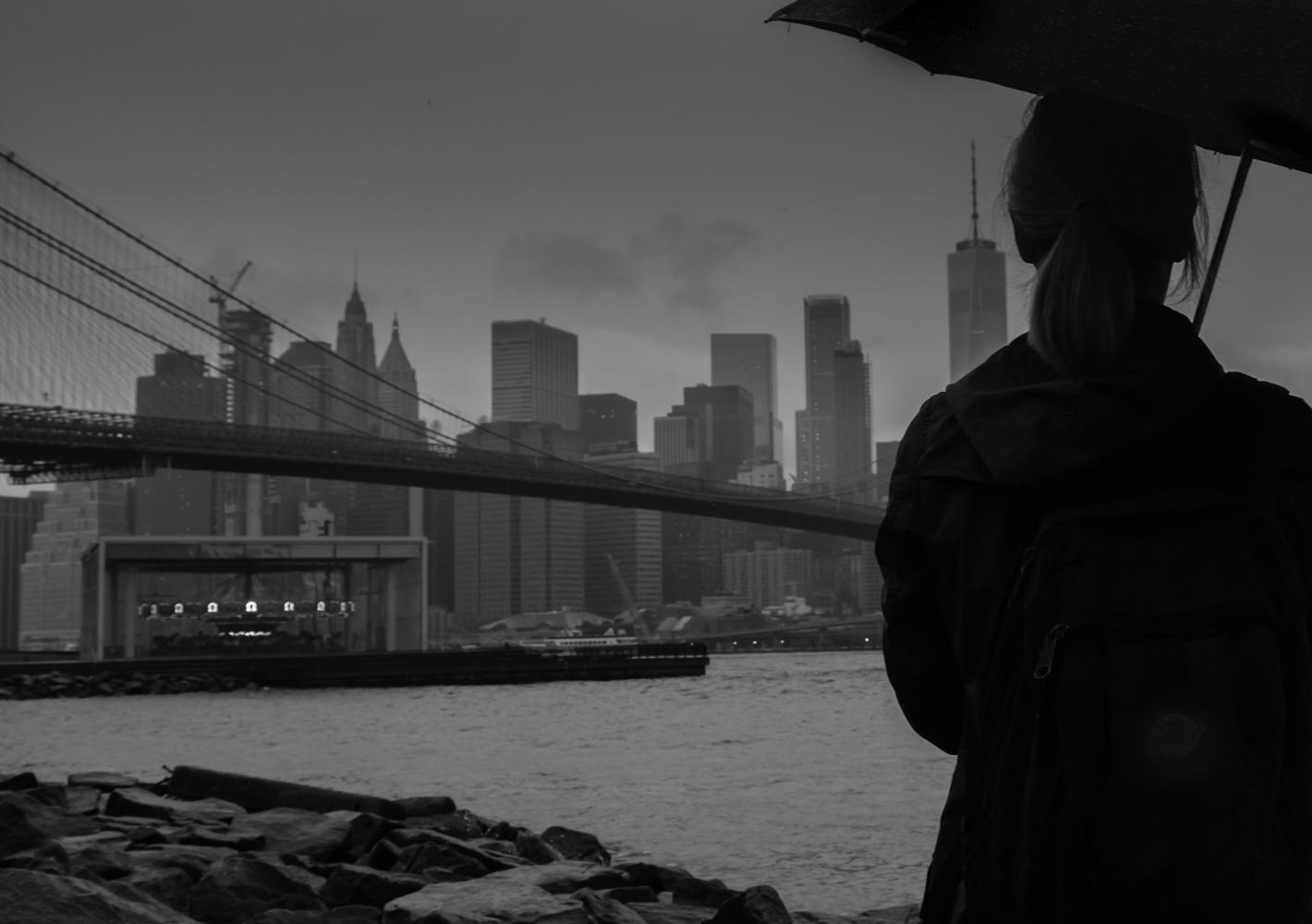 Rainy Solitude by Phil Blair