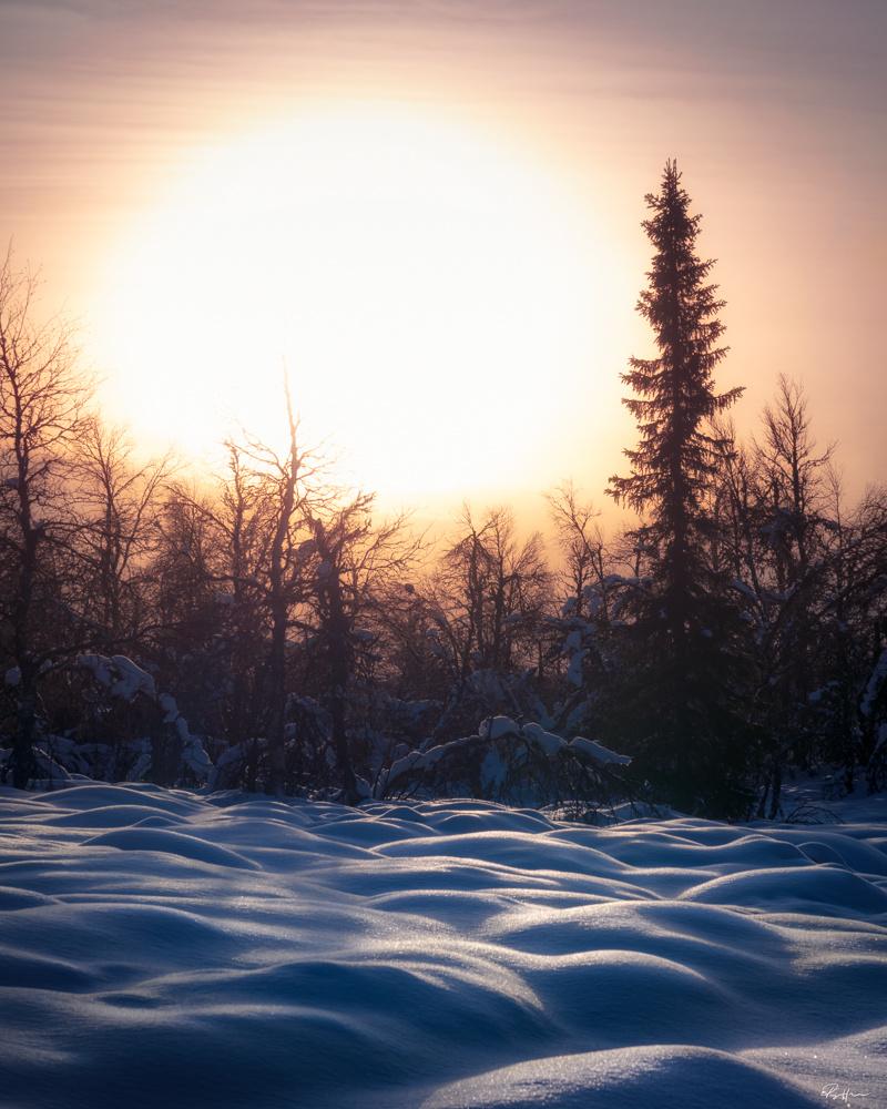 Norwegian winter by Roger Hølmen