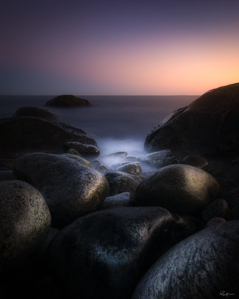 162 Seconds of sunset by Roger Hølmen
