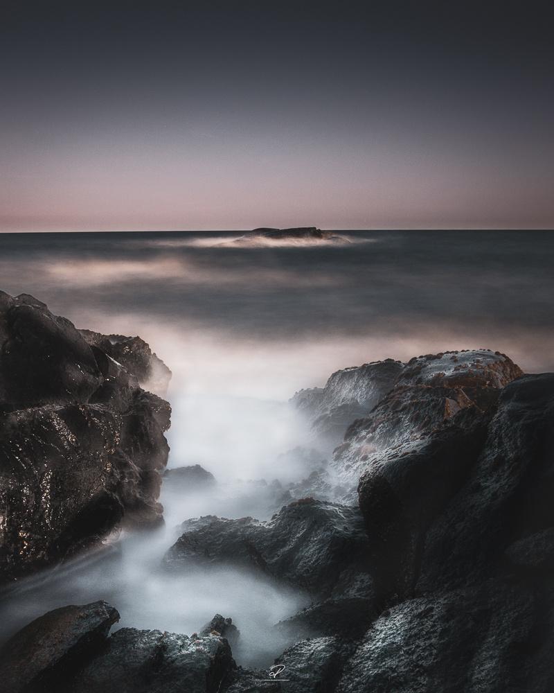 Moody seascape by Roger Hølmen