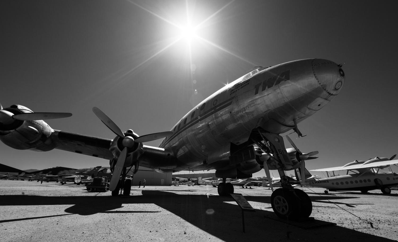 Lockheed Constellation by Shawn Mahan