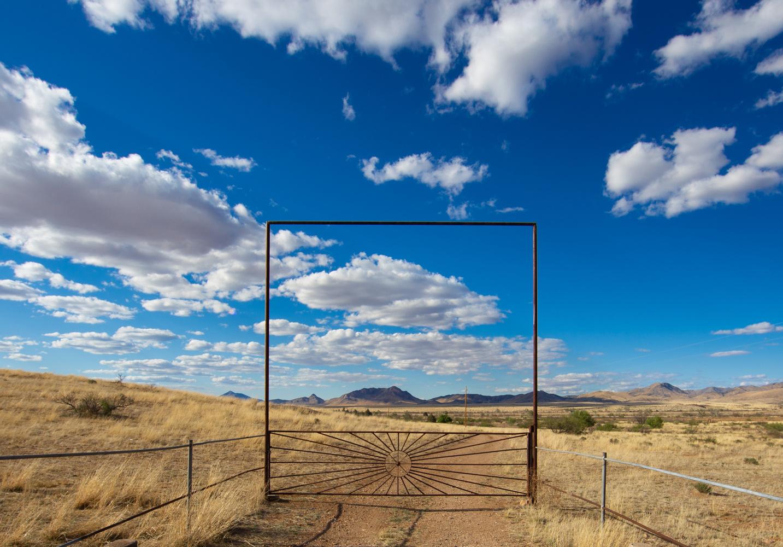 Farm Gate by Shawn Mahan