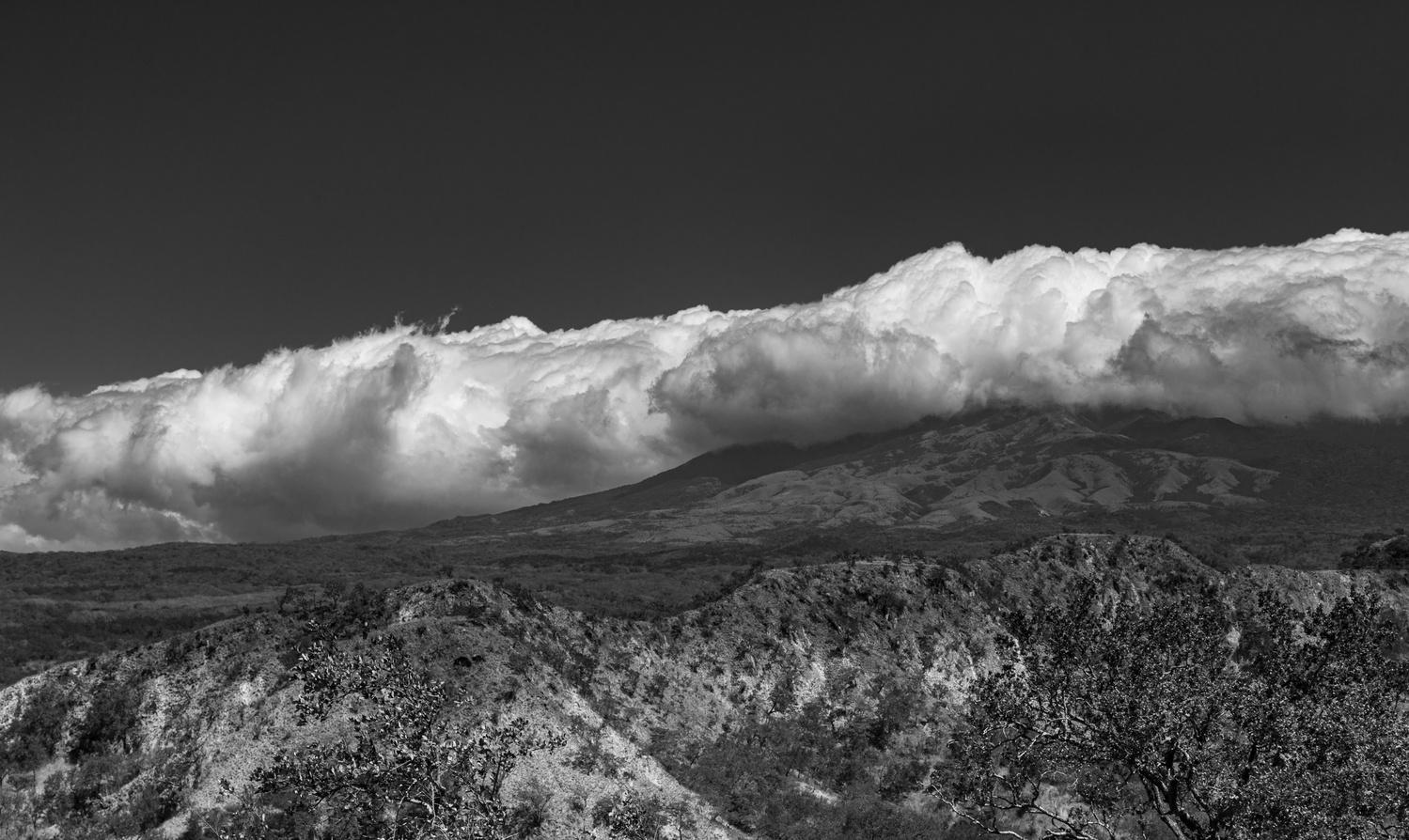 Cloud Bank over Mountain Ridge by Shawn Mahan