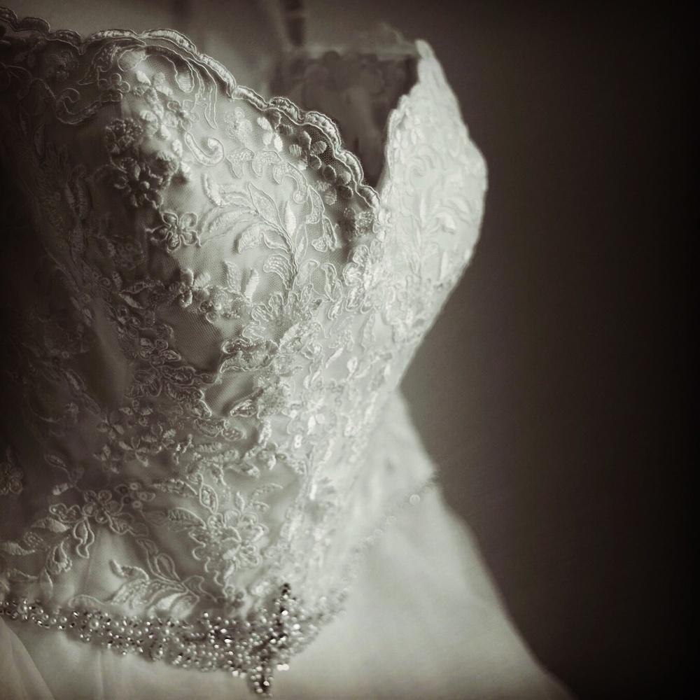 Wedding dress  by Dustin Sutton