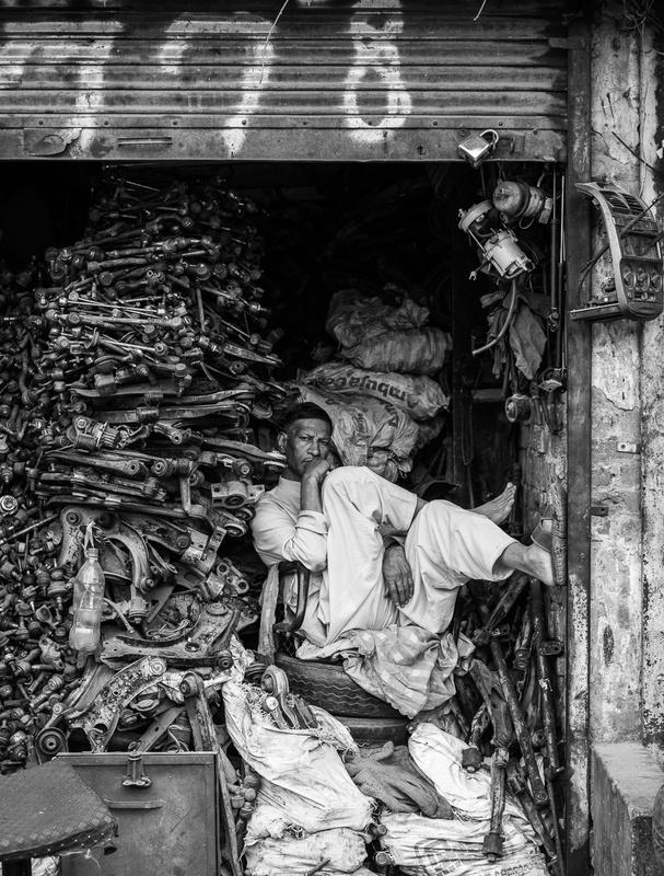 New Delhi by Nick Rains