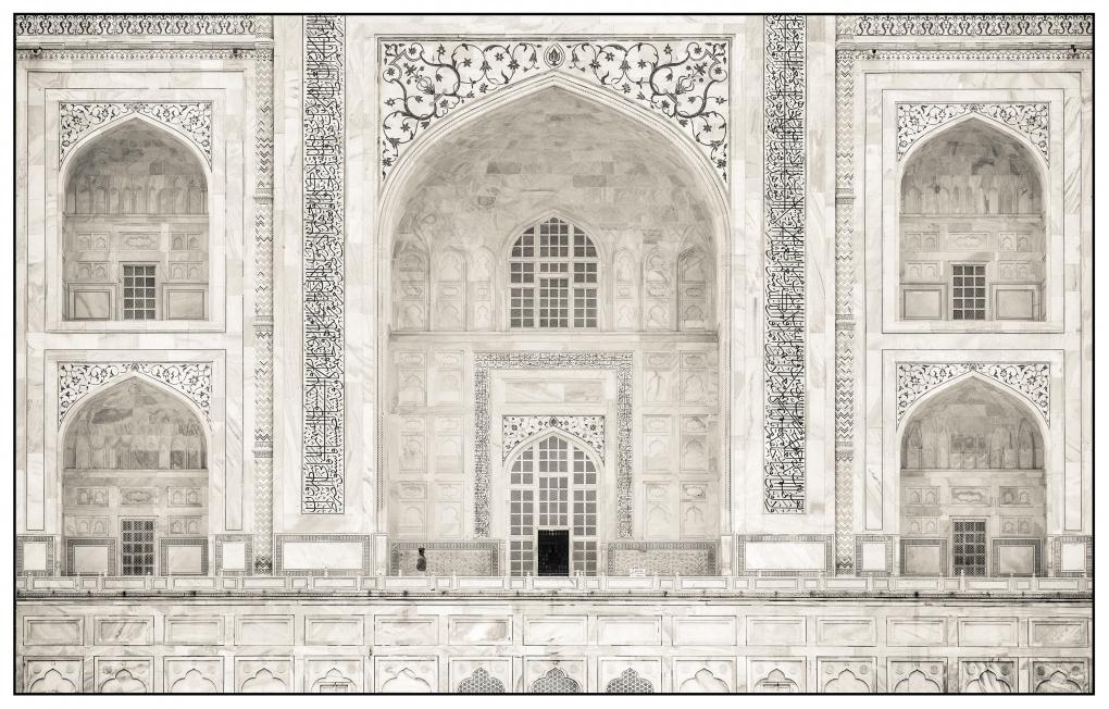 Taj Mahal, Uttar Pradesh, India by Nick Rains