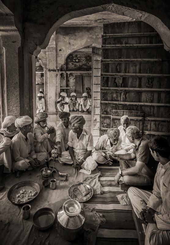 Bithoo Village, Rajasthan by Nick Rains