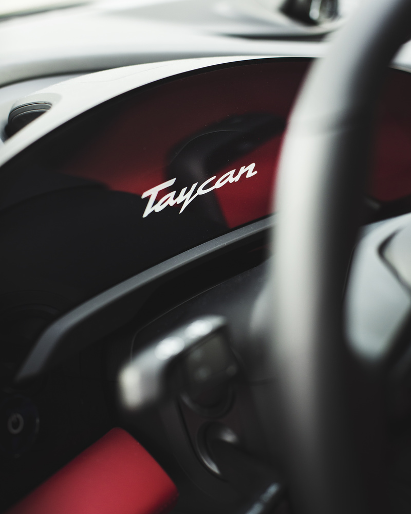 Taycan Turbo by Chris Petry
