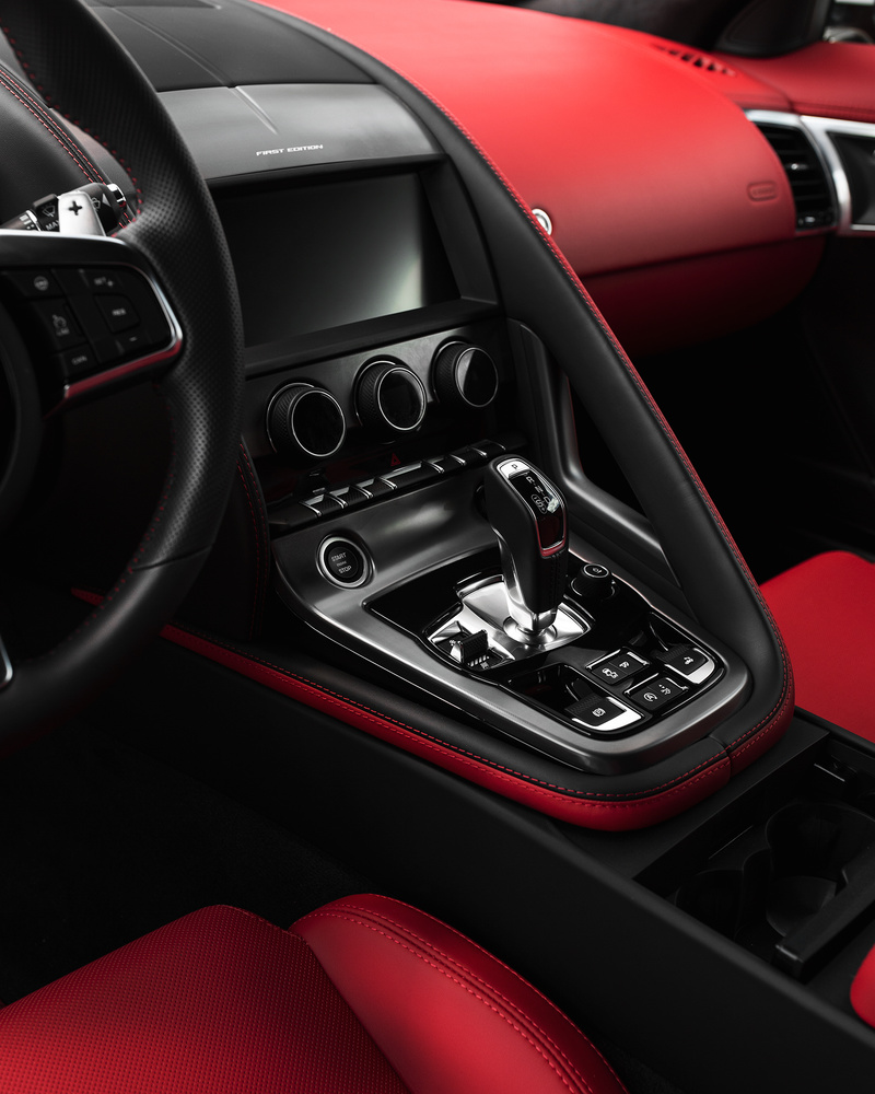 F-Type Interior by Chris Petry