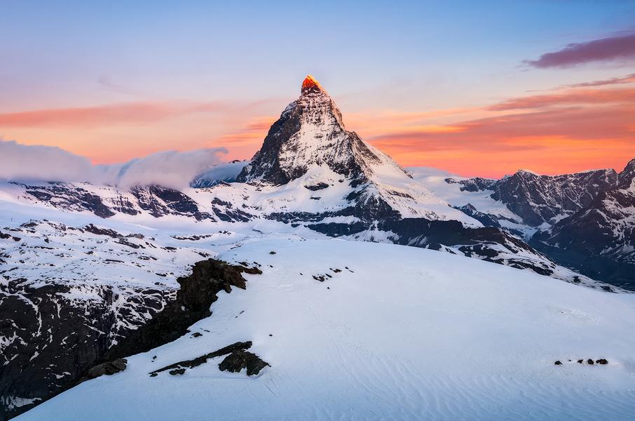 Matterhorn at the morning by Rafal Rozalski