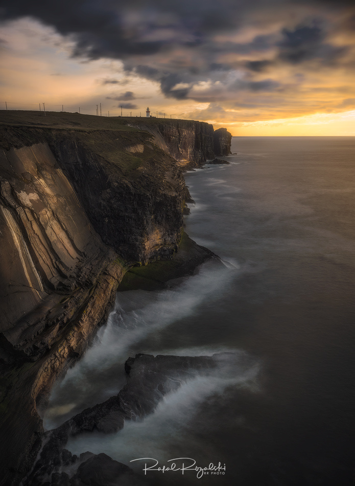 Lighthouse at Loop Head in Ireland by Rafal Rozalski