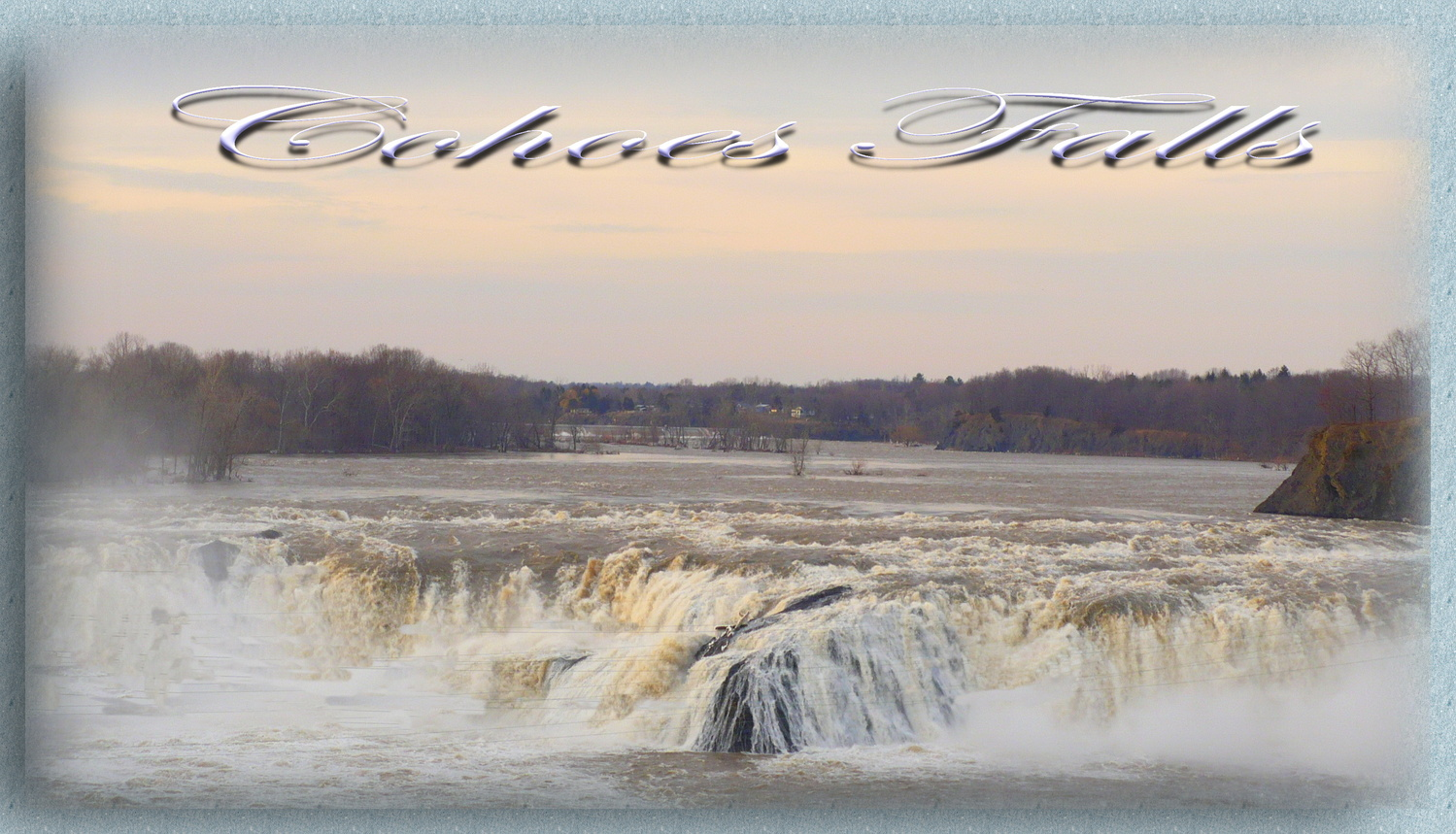 Cohoes Falls by Linda Whitworth